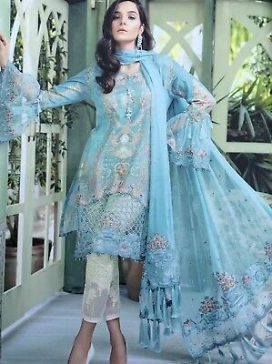 pakistani shalwar kameez unstitched With Dupatta Latest Design 2018