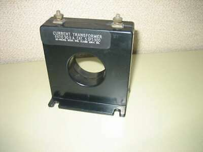 Brownell Electro SFT-500 Current Transformer Ratio 50:5 A CAT 5 50-400 Hz 600V