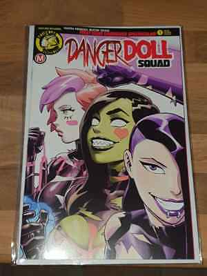 Danger Doll Squad #1 Young Risque Edition New NM