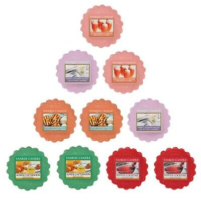 Yankee Candle Food and Spice Mix 10 Wax Tarts / Melts FREE P&P