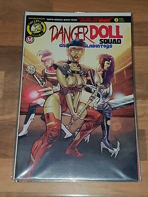 Danger Doll Squad Galactic Gladiators #1 Costa Risque Variant New NM