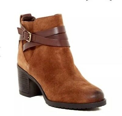 0188260f3 New  140 Sam Edelman Hannah Belted Bootie Anthropologie Suede Ankle Boots  9.5