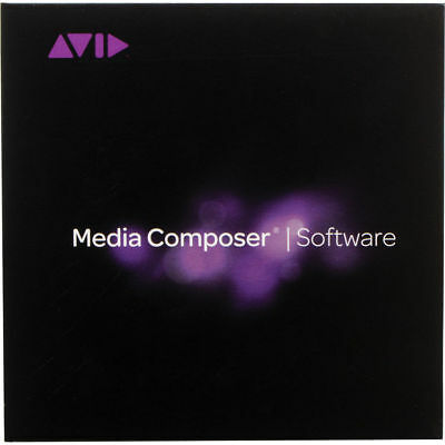 Avid Media Composer 8 (perpetual license) Brand New in Sealed Box, Never Expires