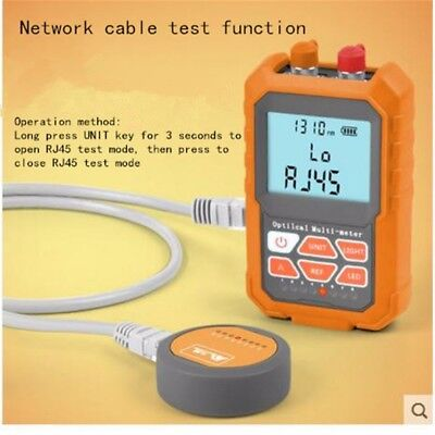 3in1 Optical Power Meter Visual Fault Locator Network Cable Test optical fiber