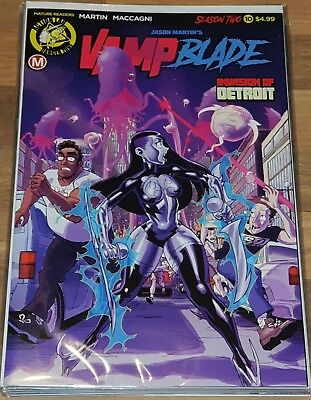 Vamp Blade Season Two #10 First Print New NM