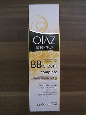 Olaz Essentials Bb Cream Touch Of Foundation Lsf 15 Dunklere
