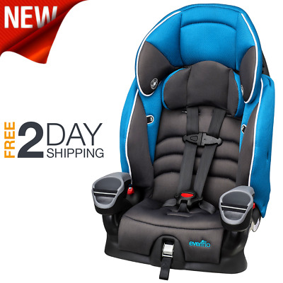 Child Booster Car Seat Kids Boys Girls Toddler Vehicle Safety Harness High Back