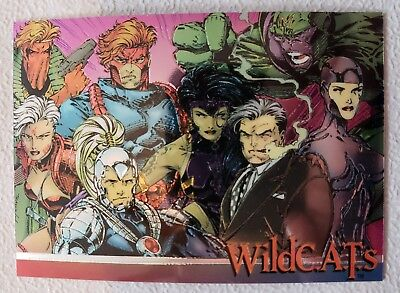 Wizard Promo Chase Card 1993 Series 3 #3 WildCats Jim Lee