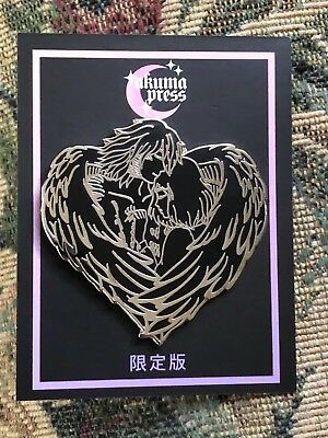 Studio Ghibli Enamel Pin Howl And Sophie Murdered Out Howl's Moving Castle