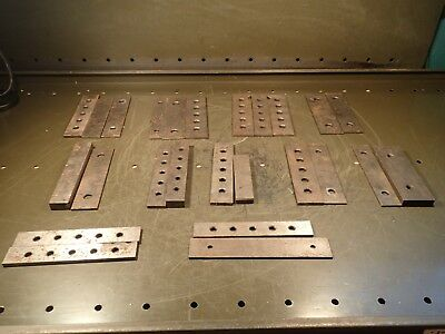 25 Piece Lot of Mill Milling Set-Up Parallel Vise Risers: Used in Good Condition