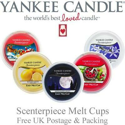 Yankee Candle Scenterpiece Melt Cups Variety of Fragrances FREE P&P