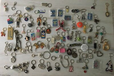 Vintage 76 Keychain Lot  Advertisement Souvenirs Coach Disney Gerhards Chico's