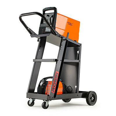 ROSSI Welding Cart Trolley MIG TIG ARC MMA Welder Plasma Cutter Storage Bench