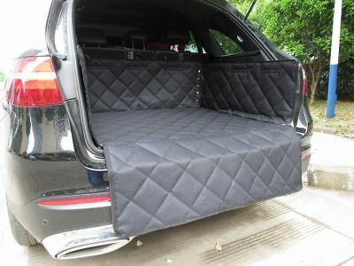 Quilted Seat Cover Set +Rear Pet Hammock Mat +Mesh Guard +Boot Liner Waterproof