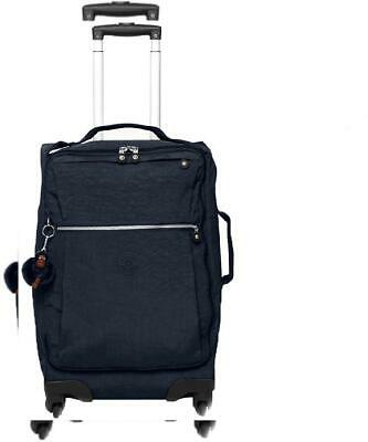 Kipling Darcey Solid Small Wheeled Luggage, One Size True Blue