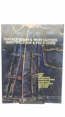 Vintage Denim & Mens Clothes Identification and Price Guide BOOK