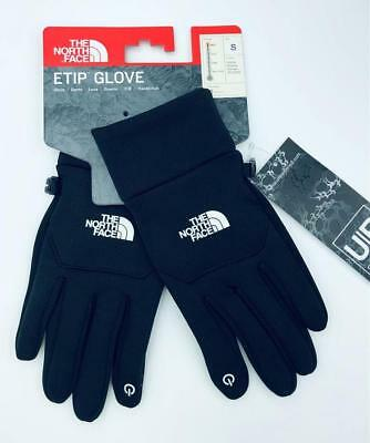 NEW The North Face Unisex Etip Gloves Touchscreen TNF Black Size Small UR