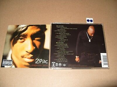 2Pac 2Pac  Greatest Hits 2001 2 cd Excellent Condition
