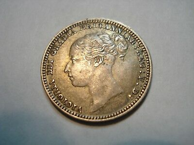Great  Britain Silver   6   Pence  1879   High Grade