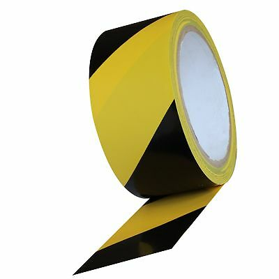 ProTapes PVC Heavy Duty Safety Stripe, 51 lbs/in Tensile Strength, 7.8 mils T...