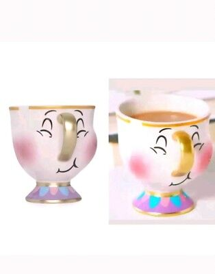 Primark Bubble Chip Cup Disney Beauty and The Beast Teacup Mug Christmas Gift