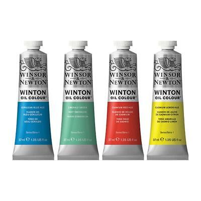 1 X Winsor & Newton Winton Oil Colour 37ml Choose from 47 Colours