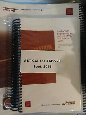 Rockwell Automation AB Studio 5000 RSLogix CCP151 Basic Programming Course w/SW