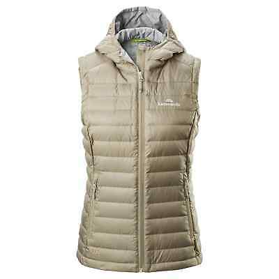 Kathmandu Heli Women's Lightweight Duck Down Warm Insulated Puffer Vest v2