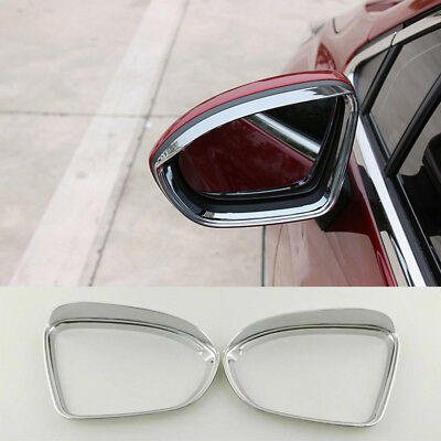 ABS Chrome Rearview Side Mirror Eyebrow Cover Trim For Chevrolet Cruze 2017-2018