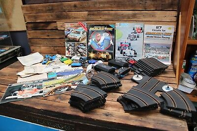 Bulk Vintage Scalextric Slot Car Book Track Controller Car