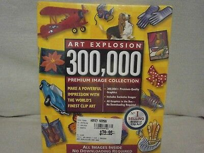 Art Explosion 300,000 Premium Image Collection 2004 Edition - No1 Selling Brand