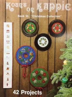 Kount On Kappie Christmas Collection Counted Cross Stitch Chart 42 Projects