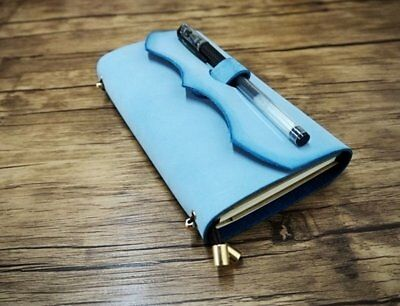 Leather Handmade Travelers Sketchbook Art Book Blank Diary Notepad Notebook Gift