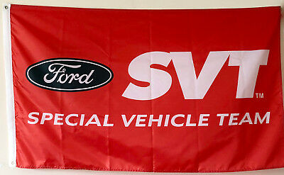 Ford SVT racing mustang cobra special vehicle flag banner 3x5ft