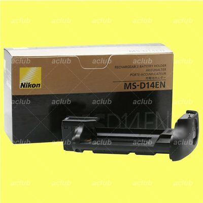 Genuine Nikon MS-D14EN Battery Holder Tray for EN-EL15 MB-D14 MB-D15 MB-D16