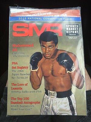 Sports Market Report SMR August 2016 - Muhammad Ali National Convention Issue