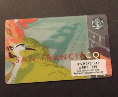 Starbucks Card San Francisco 2018