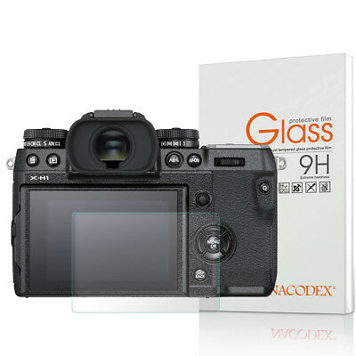 Nacodex For Fujifilm X-H1  Tempered Glass Screen Protector