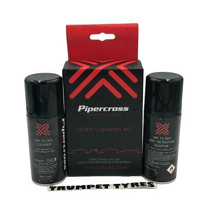 Pipercross Air Filter Cleaning Kit Dirt Retention Oil & Cleaner Additive C9000