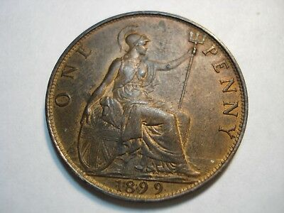 Great  Britain   1    Penny   1899    Gem Unc