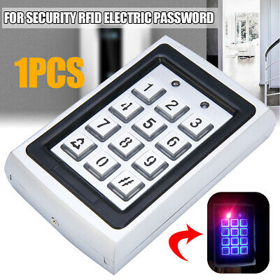 Metal Waterproof Password Keypad Access RFID Card Reader Door Control System