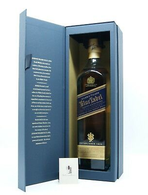 Johnnie Walker Blue Label, Blended Scotch Whisky, mit Geschenkbox, 0,7l, 40%