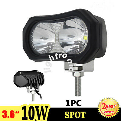 "1X 3.6"" 10W Cree LED Work Light Spot Driving Lamp Offroad Motorcycle 4X4 4WD ATV"