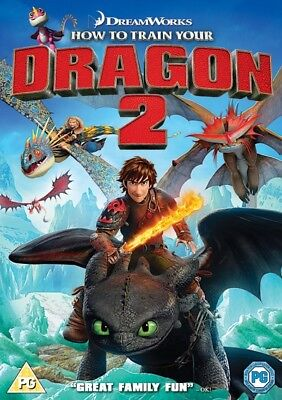 How to Train Your Dragon 2 [Region 2] - DVD - New - Free Shipping.