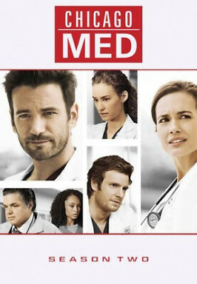 Chicago Med: Season Two [Regions 1,4] - DVD - New - Free Shipping.