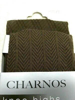 Charnos knee highs chocolate onesize
