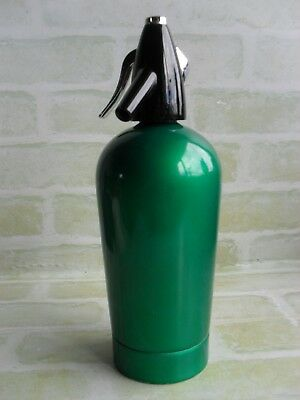 Vintage Green Boc Soda Syphon Serial Number Sci-Zr - Made In England