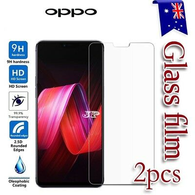 2x Oppo A3S Tempered Glass LCD Screen Protector Film Guard