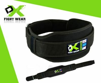 Weight Lifting Belt Gym Training Back Support Neoprene Lumber Pain Fitness DX