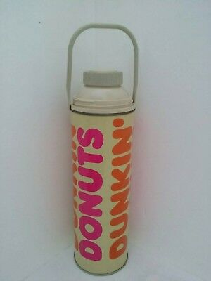 """Dunkin Donuts 13-1/2"""" King Seeley Metal Thermos"""